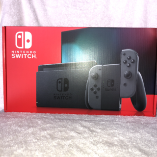 Nintendo Switch - 新品・未開封 NINTENDO SWITCH 本体 グレー