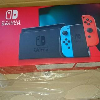 Nintendo Switch 新型 ネオンブルーネオンレッド 新品