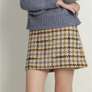 JILLSTUART - 【新品】JILLSTUART ツイッギー台形スカート
