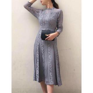 ラグナムーン(LagunaMoon)の新品 ラグナムーン レースワンピース ドレス(ロングワンピース/マキシワンピース)