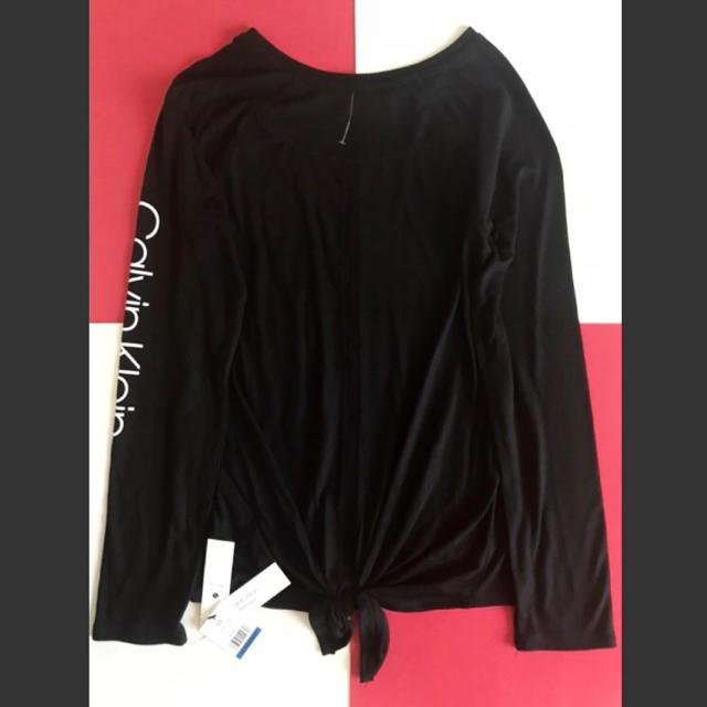 Calvin Klein(カルバンクライン)のレア新品 Calvin Klein USA レディース ロンT XL 下着 レディースのトップス(Tシャツ(長袖/七分))の商品写真