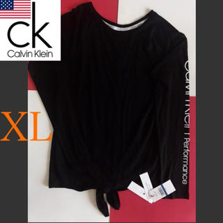 Calvin Klein - レア新品 Calvin Klein USA レディース ロンT XL 下着