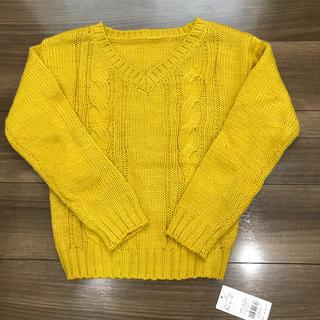 セシルマクビー(CECIL McBEE)の【新品】セシルマクビー セーター Mサイズ マスタード色(ニット/セーター)