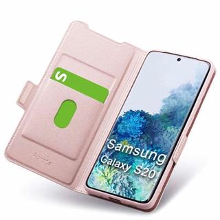 ギャラクシー(Galaxy)のGalaxy S20 ケース 5G 手帳型 ローズゴールド(Androidケース)