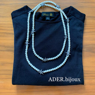 UNITED ARROWS - ADER.bijoux アデルビジュー  スター パール 2way ネックレス