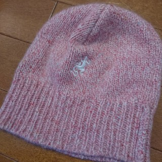agnes b. - アニエスベー  アンゴラ混帽子