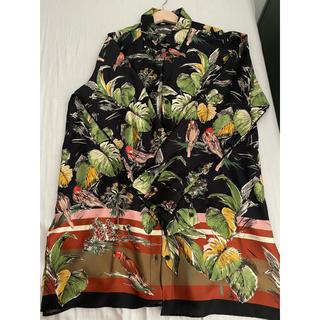 ZARA - ロングシャツ(と書いてワンピース)