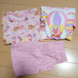 アンパンマン - アンパンマンパジャマ 3点セット 女児 100