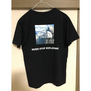ザノースフェイス(THE NORTH FACE)のノースフェイス Tシャツ 黒 Mサイズ(Tシャツ/カットソー(半袖/袖なし))
