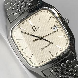 OMEGA - ◆OMEGA◆シーマスター シルバー クオーツ 腕時計 メンズ 稼動品