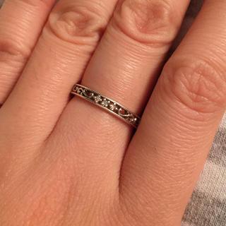 アナスイ(ANNA SUI)のアナスイ  ダイヤモンド シルバーリング(リング(指輪))