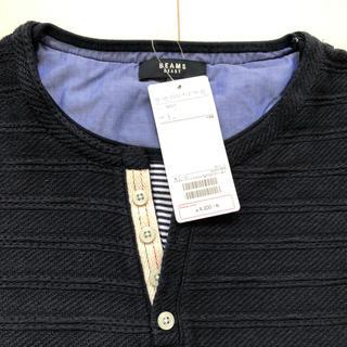 ビームス(BEAMS)のビームス ヘンリーネック Tシャツ(Tシャツ/カットソー(半袖/袖なし))