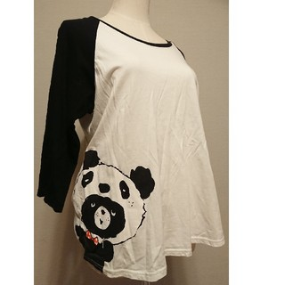 フランシュリッペ(franche lippee)の美品 フランシュリッペ ロンT Tシャツ 七分袖 FL5 大きいサイズ 3L(Tシャツ(長袖/七分))