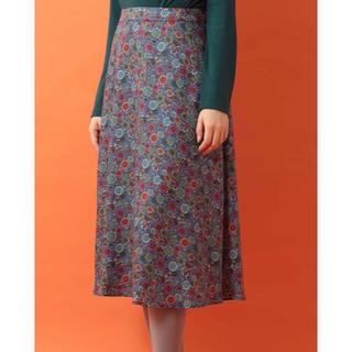 ホコモモラ(Jocomomola)のホコモモラ じょおう と とり プリントスカート 40(ロングスカート)