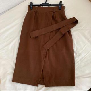 スコットクラブ(SCOT CLUB)の定価25,000円 秋冬 Grandtable ウールスカート 膝下丈 サイズM(ロングスカート)