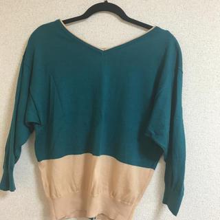 クリアインプレッション(CLEAR IMPRESSION)の美品 ニット 薄手セーター(ニット/セーター)