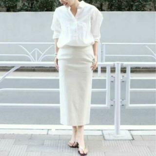 プラージュ(Plage)のプラージュ アサストレッチスカート 34(ひざ丈スカート)