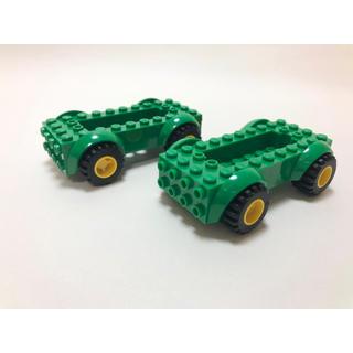 Lego - 【新品未使用】レゴ LEGO 車体 グリーン 2つ