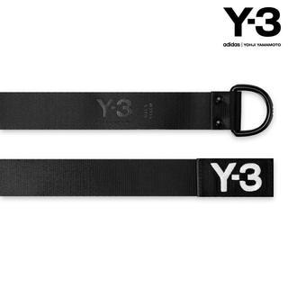 ワイスリー(Y-3)のY-3 LOGO BELT - BLACK (ベルト)