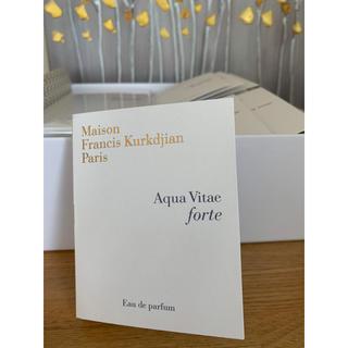 メゾンフランシスクルジャン(Maison Francis Kurkdjian)の新品・未使用 メゾンフランシスクルジャン  アクア ヴィタエ フォルテ 2ml(香水(女性用))