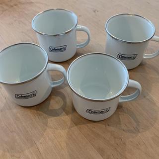 コールマン(Coleman)のコールマン ホーローカップ 4個(調理器具)