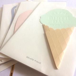 ジェラートピケ(gelato pique)のジェラートピケ GELATO PIQUE メッセージカード5枚セット(カード/レター/ラッピング)