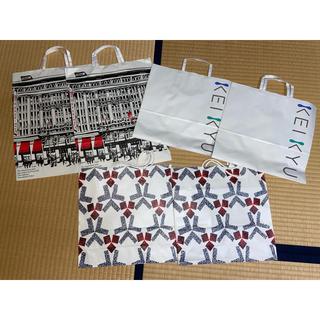 ミツコシ(三越)の紙袋 6枚セット 高島屋 京急 三越 デパート(ショップ袋)