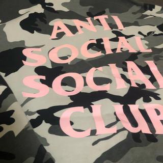 アンチ(ANTI)のanti social social club  初期ピンク(パーカー)