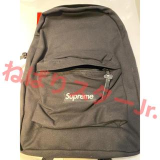 Supreme - supreme canvas backpack black