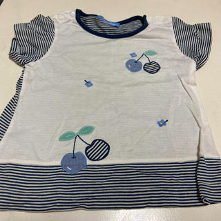 familiar - ファミリアTシャツ サイズ100 記名なし