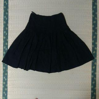 ストロベリーフィールズ(STRAWBERRY-FIELDS)のストロベリーフィールズ ギャザースカート(ひざ丈スカート)