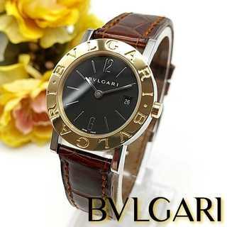 ブルガリ(BVLGARI)の美品 ブルガリ BB26SGL SSxK18YG レディース時計  クォーツ(腕時計)