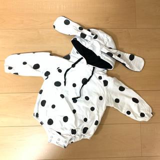 ダルメシアン 犬 ロンパース 90
