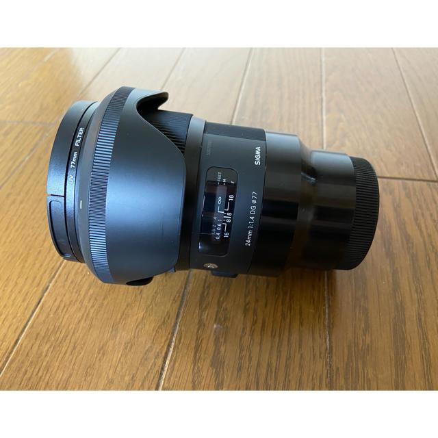 SIGMA(シグマ)のSonyEマウント 24mm f1.4 DG HSM スマホ/家電/カメラのカメラ(レンズ(単焦点))の商品写真