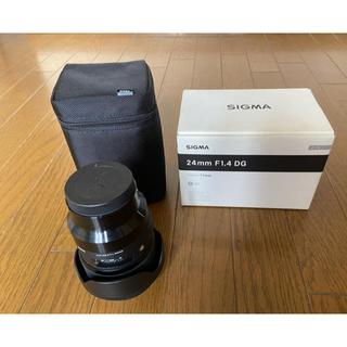 SIGMA - SonyEマウント 24mm f1.4 DG HSM