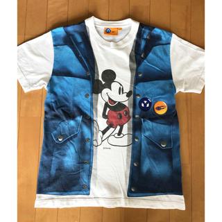 ビームス(BEAMS)のBEAMS×ディズニーシー  メンズS  重ね着風Tシャツ(Tシャツ/カットソー(半袖/袖なし))