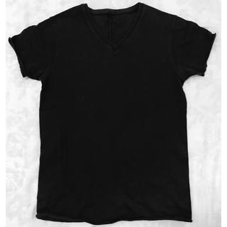ダブルジェーケー(wjk)のwjk Tシャツ Vネック ブラック(Tシャツ/カットソー(半袖/袖なし))