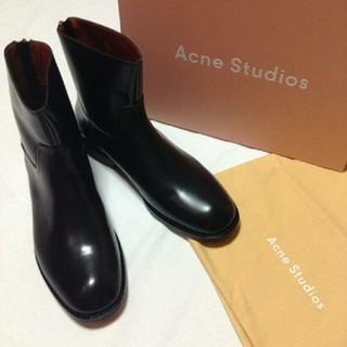 アクネ(ACNE)の定価9.2万■美品■Acne Studios■ジップアップブーツ■(ブーツ)