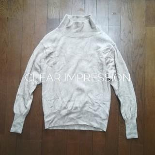 クリアインプレッション(CLEAR IMPRESSION)の♡clear impression♡美品ラクーンニット(ニット/セーター)