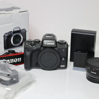 Canon - EFマウントアダプター付!【Canon EOS M5】付属品完備