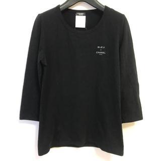 シャネル(CHANEL)のシャネル 七分袖Tシャツ サイズM - U02538(Tシャツ(長袖/七分))