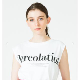 アナイ(ANAYI)のアルアバイル♡ロゴノースリーブT ホワイト(Tシャツ(半袖/袖なし))