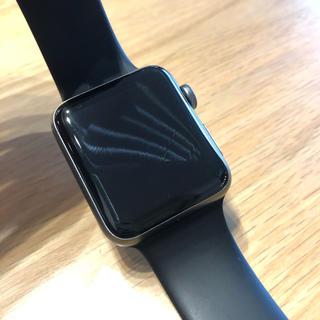アップルウォッチ(Apple Watch)のApple Watch3GPS + Cellularモデル42mm(スマートフォン本体)