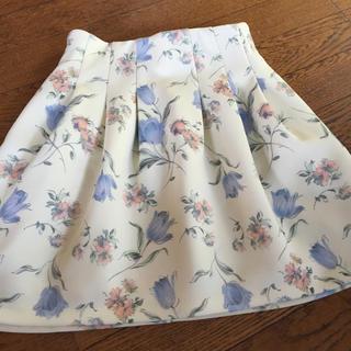 ダズリン(dazzlin)のチューリップ ボンディング スカート(ミニスカート)