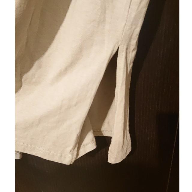 しまむら(シマムラ)のしまむら 新品 Tシャツワンピース L UNIQLO GU  レディースのトップス(Tシャツ(半袖/袖なし))の商品写真