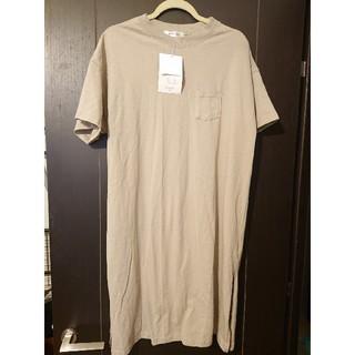 しまむら - しまむら 新品 Tシャツワンピース L UNIQLO GU