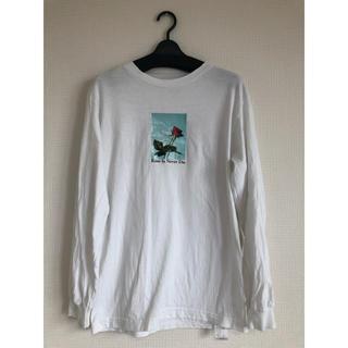 ルカ(LUCA)の薔薇プリントロンT(Tシャツ(長袖/七分))
