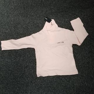 コムサイズム(COMME CA ISM)の新品 コムサイズム タートルネックシャツ 90(Tシャツ/カットソー)