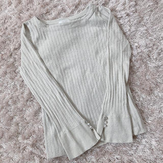 エイチアンドエム(H&M)の今週限定 レア gray tops(カットソー(長袖/七分))