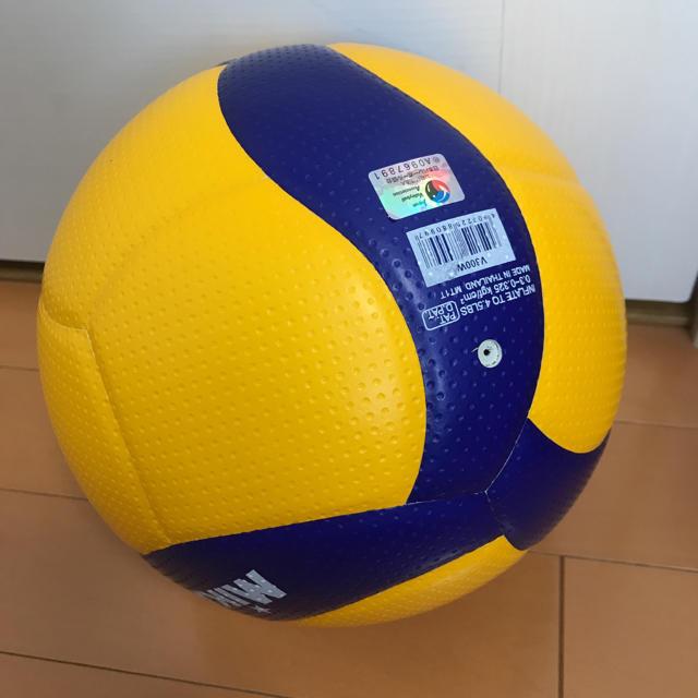 MIKASA(ミカサ)の超美品 ミカサバレーボール MIKASA 5号球 検定球V300W 送料込 スポーツ/アウトドアのスポーツ/アウトドア その他(バレーボール)の商品写真